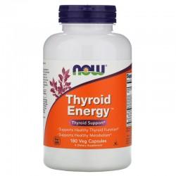 Now Foods,  Энергия щитовидной железы, 180 капсул в растительной оболочке