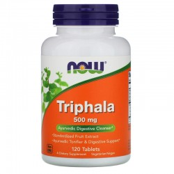 Now Foods, Трифала, 500 мг, 120 таблеток